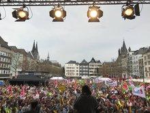 Warnstreik in Köln