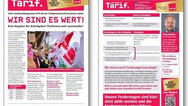 Tarifinfo Verhandlungsauftakt Tarifrunde ÖD Länder 2019