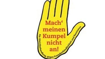 """Das Logo der Initiative """"Mach meinen Kumpel nicht an!"""""""