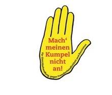 """Das Logo """"Mach meinen Kumpel nicht an!"""""""