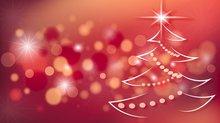 Ein illustriter Weihnachtsbaum