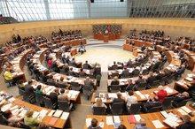 Plenardebatte im Landtag NRW