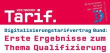 Cover Flugblatt Digitalisierungstarifvertrag