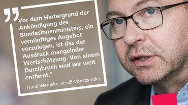 Frank Wernecke, ver.di-Bundesvorsitzender