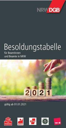 Das Cover der DGB/ver.di-Besoldungsbroschüre