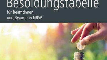Das Cover der DGB/ver.di - Besoldungsbroschüre.