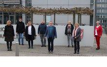 Die gewählten ver.di Mitglieder im HPR Justiz NRW