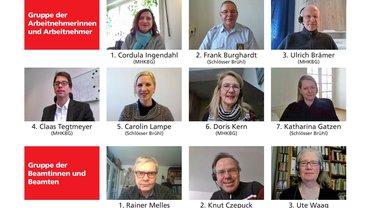 Die ver.di-Kandidat*innen für den HPR MHKBG NRW
