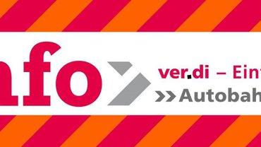 Das Cover ver.di - Autobahn GmbH